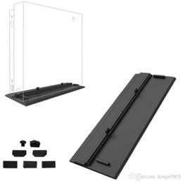 Venta caliente Simplicidad Refrigeración Soporte vertical Soporte para soporte de soporte Soporte para kit de prueba de polvo de bricolaje Jack Stopper para Xbox One X OneX Consola de juegos desde fabricantes