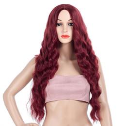 Herhangi bir cilt tonu için uygundur Avrupa ve Amerikan peruk, mısır, sıcak, kadın uzun kıvırcık saçları, peruk, iki renk, nereden bakire çocuklar tedarikçiler