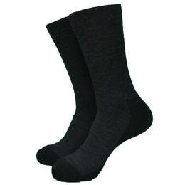 Calcetines de lana gris online-1 Par Alemania Gris oscuro de lana calcetines gruesos calcetines de los hombres de trabajo de equipo grande Tamaño