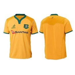 NEW 2018 AUSTRALIA WALLABIES JERSEY 18 19 rugby Jerseys NRL National Rugby  League shirt Australian wallabies shirts s-3xl shirts australia on sale 892531475