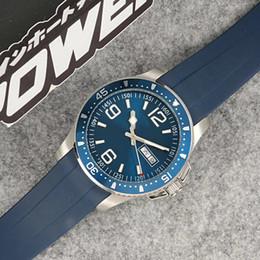 Швейцарские часы онлайн-Автоматическое движение ограниченной серии LG Ceamic Безель Мужские часы Черный / Зеленый циферблат Sweatband Мужской Часы Montre Homme