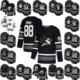 2019 NHL All Star Hockey Jersey Connor McDavid David Pastrnak Joe Pavelski  Brent Burns Henrik Lundqvist Sidney Crosby Patrick Kane Black discount nhl  star ... 3ba98e238