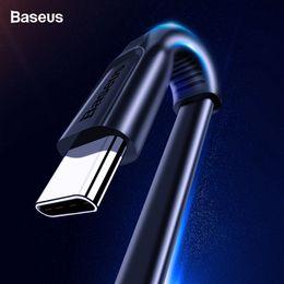 cabo iphone carregador cabos Desconto Baseus usb tipo c cabo usb carregador de carregamento rápido usb-c tipo c cabo para samsung s10 s9 xiaomi mi 9 8 huawei oneplus 6t 6 5 t