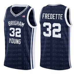 logos basquete Desconto NCAA Jimmer 32 Fredette Jersey Top vendas Mens University barato atacado Basketball Jerseys Bordados Logos S-XXL88
