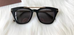 2019 quadros de qualidade óptica Luxo 0575 óculos de sol Para As Mulheres Designer de Moda Popular Oco Out Lente Óptica Olho de Gato Full Frame Preto Top Quality Vem Com pacote quadros de qualidade óptica barato