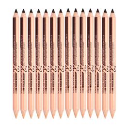 2019 lápiz corrector impermeable Corrector de delineador de cejas multicolor 3 colores Lápiz de cejas resistente al agua de larga duración Maquillaje facial de alta calidad