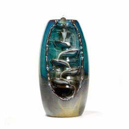 Backofenhalter online-Keramik Aromatherapie Ofen Rückstau Räuchergefäß, aromatischer Geruch für das Büro zu Hause, Kegelhalter, zu Hause Handwerk Dekoration