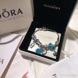 2019 titan zink weiß Pandora Luxus Designer Schmuck Frauen Armbänder Charme Armband Edelstahl Schraube Manschette bracciali Dame Geschenk Bracciale donna Originalverpackung