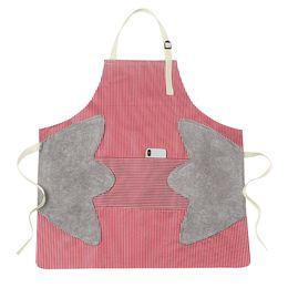 toallitas para adultos Rebajas Puede limpiarse las manos delantal a prueba de agua un plato frito a prueba de grasa cocinar cena sobretodo cocina doméstica moda adulto