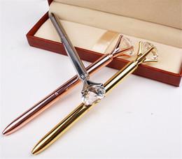 Deutschland Luxus Kristall Kugelschreiber Metallgehäuse Kreative Kugelschreiber Diamant Form Stift Dame Hochzeit Büro Schulbedarf Geschenk 077 Versorgung