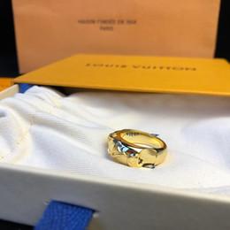 bastoni di corrispondenza all'ingrosso Sconti Gioielli di lusso gioielli da donna anelli da uomo anelli da sposa in oro 18 carati anello di amore 19 accessori moda pacchetto completo