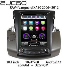 Dvd autoradio für rav4 online-Car Multimedia Player Stereo GPS DVD Radio-Navigations NAVI Android-Bildschirm für RAV4 Vanguard XA30 2006 ~ 2012 Auto-DVD