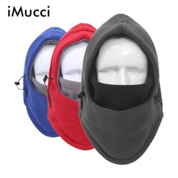 iMucci Winter Polar Hot Hats Herrenhüte Schädel Sturmhaube Ski Snowboard Maske Wärmer Fleece Bandana Wargame Special Forces Maske Cap von Fabrikanten