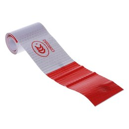 Canada 5 cm * 100 cm Rouge Blanc Argent Alternatif avec bande Réfléchissante Ruban Autocollant Voiture Véhicule Camion Route Route Avertissement Bricolage Decal supplier vehicle tape Offre