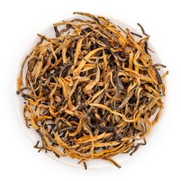 2019 encomendar caixas de plástico Chá preto chinês Dian Hong Mao Feng, mel Aroma Yunnan chá preto Dianhong, China chá vermelho Fengqing Dianhong