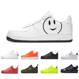 Nike Air force 1 af1 one shoes US5.5 11 Cheap Brand One 1 Dunk Flyline Scarpe da corsa Donna Uomo High Low Cut Nero Bianco Alta qualità Skateboarding
