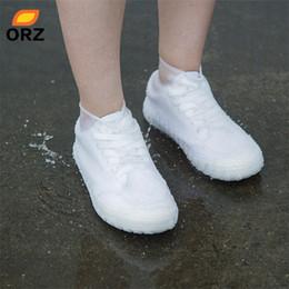 ORZ Silicone Sur Couvre-chaussures de pluie réutilisables Couvre-chaussures hommes bottes antidérapantes unisexe protecteur de chaussures pour intérieur et extérieur ? partir de fabricateur