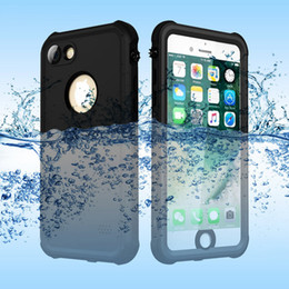 iphone 5s waterproof case fingerprint Coupons - Waterproof Case for iPhone7 7plus 6plus 6s plus 5s Sealed Cases Red Pepper Waterproof Shockproof Cover With Fingerprint Sensor Touch 8colors
