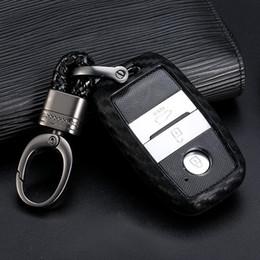 Carbon blanco clave lámina audi B funda llaves del coche clave funda Key