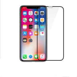 10 feuilles de verre trempé 5D pour iPhone x 8 7 6S plus protection d'écran verre trempé à couverture totale XS Max Xr ? partir de fabricateur