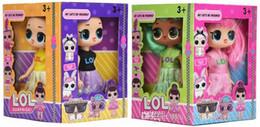 Exhibiciones de muñecas online-5'5 Pulgadas PVC Kawaii Niños Lindos Juguetes Figuras de Acción de Anime Realistas Muñecas Renacidas Regalo 4 Estilos Mix 4 pcs / Display box LT720