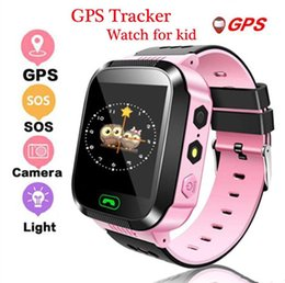 estados unidos a prueba de agua Rebajas Q528 GPS Reloj inteligente Reloj de pulsera para niños Reloj impermeable para bebés con cámara remota SIM Llamadas Regalo para niños pk dz09 gt08 a1l SmartWatch