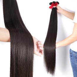 оптовый бразильский парик переплетения прямые человеческие волосы 30 32 40 дюймов 10 пучков сырого девственного утка наращивание волос от