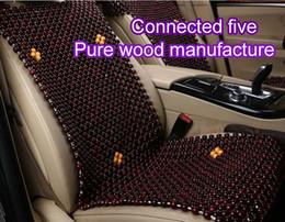 Herstellung von perlen online-PKW-Sommerreifen aus Holz Perlenkissen kühl fünf Sitz ummantelt exquisite Falzprozess m Herstellung
