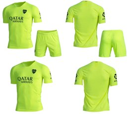 2019 kits de uniforme de fútbol verde 19 20 Boca Juniors Soccer Kit 2018 19 4b7ea1d75294c