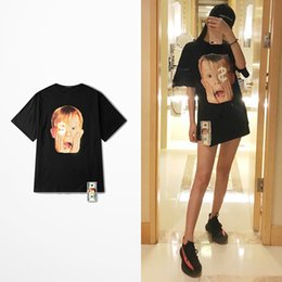 Impresión en dólares online-2020ss Solo en casa Imprimir Dólar ornamento divertido Camisetas Hombre Monopatín de Hip Hop Calle camiseta coreana superior de la manera Tee