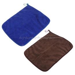 Быстрые палочки онлайн-Мягкое рыболовное полотенце Quick Dry с пряжками из микрофибры Водопоглощение с антипригарным покрытием N06 челнока