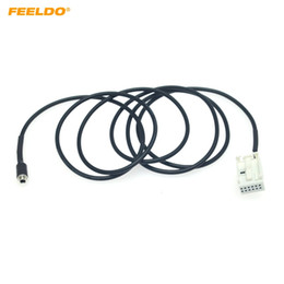 2021 bmw aux cable FEELDO Car Audio Radio MP3 AUX-IN cabo adaptador para BMW E39 E53 X5 E60 E61 12-Pin Cable Porto AUX Fio # 5807