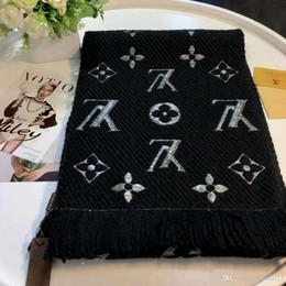 Canada 2019 Europe et les États-Unis Date super qualité Foulards pour Femmes Foulard Hiver Marque rectangle Coton Foulard Femme HE-28 Offre