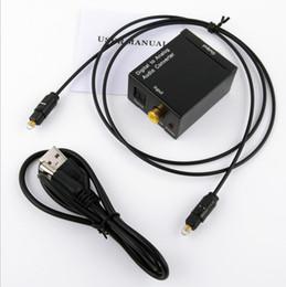 2019 decodificador de áudio óptico Conversor de áudio digital para analógico Digital SPIDF óptico coaxial para decodificador analógico decodificador de áudio óptico barato