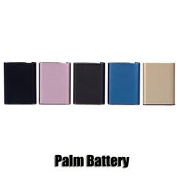 Deutschland Palmbatterie 550mAh Inhalieren Aktiviert Auto Draw Vape Usb Ladegerät Box Mod Für 510 Gewinde TH205 Dickölpatronen Verdampfer Versorgung