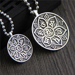 20PCS 51x8MM Antique Silver Alloy Buddhist Instruments Charms Pendants 28907