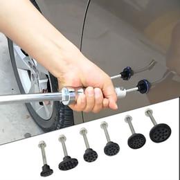 cola plástica Desconto Paintless Reparação Dent Extrator Ferramentas Ferramentas de Remoção De Plástico Cola Tabs 6 Pcs Glue Tabs para Carro Plástico N Material de Ferro