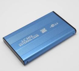 2.5 HDD SATA externo unidade de disco rígido recinto caso apoio USB2.0 max 3TB para laptop Laptop computador PC com o pacote de varejo MOQ 100PCS de