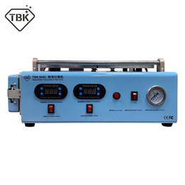 máquina de bolha para lcd Desconto Nova TBK-968C Tela LCD Separada OCA Autoclave Bolha Remover Máquina Construída em bomba de vácuo do compressor para ipad Tela curvada