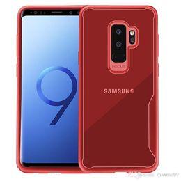 Nuevo para samsung galaxy S8 S9 A6 A8 más Nota 8 J2 J3 J3 J5 J7 caja del teléfono celular transparente claro teléfono móvil cubierta de la caja de TPU silicona delgada desde fabricantes