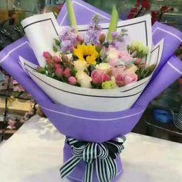 fiori materiali avvolgere bouquet Sconti 20 fogli / lotto Imballaggi in carta Fiorista Forniture a mano Materiale Fai da te Bouquet Confezione regalo Confezione regalo Carta AAA1590