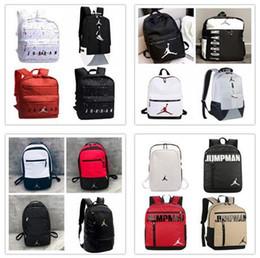 2020 rucksäcke für mädchen 2020 NEW Air Jordan Rucksack Taschen 2019/20 AJ PSG PARIS Marke Taschen für Mann, Frau, Mädchen und Mode Freizeitsport Umhängetasche günstig rucksäcke für mädchen