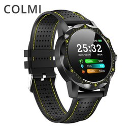 2019 telefoni cellulari Colmi Sky 1 Smart Watch Ip68 Impermeabile Frequenza cardiaca Attività Fitness Tracker Bluetooth Uomo Smartwatch per Iphone Android Phone T190704 telefoni cellulari economici
