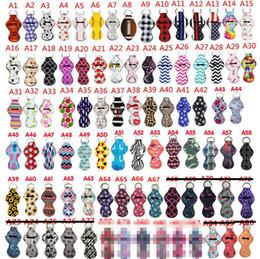 cavallo cartoon nuovo anno Sconti 159 Colori di stampa del modello Chapstick Keychain del supporto Ragazze Chapstick Lipstick portachiavi per il partito di favori di San Valentino regalo