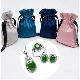 Свадебный подарок кошелька монет онлайн-Fashion Women Kids Girls Small Coin Purse Mini Wedding Drawstring Party Favor Gift Bags Candy Jewelry Pouches Organizer New 2019