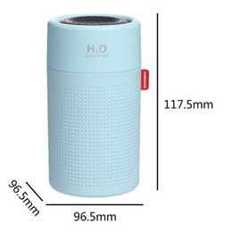 320mlPcs Mini Air Humidifier With Battery Cup Ultrasonic