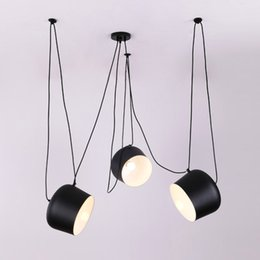 2019 lámparas de araña Luces colgantes industriales de la araña moderna de encargo para los accesorios de la sala de buceo / de los restaurantes lámparas de la cocina E27 que cuelgan la lámpara LED lámparas de araña baratos