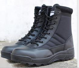 Ventilatori esterno militare di alpinismo Scarpe tattico stivali primavera e in autunno uomini e donne High Top Desert Boots combattimento da
