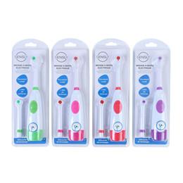 elektrische rotationsbürste Rabatt Automatische elektrische Zahnbürste Rotary Ultraschall-Zahnbürste Wasserdichte Zahnbürste zur Mundreinigung mit 2 Stück Ersatzköpfen 4 Farben