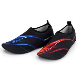 Chaussures de plongée livraison gratuite en Ligne-Wading couple chaussures de plage ski nautique chaussures de natation en amont ruisseau pieds nus chaussures de plongée douces livraison gratuite